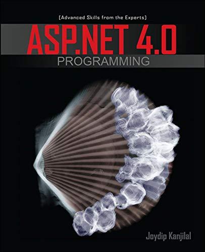 9780071604109: ASP.NET 4.0 Programming