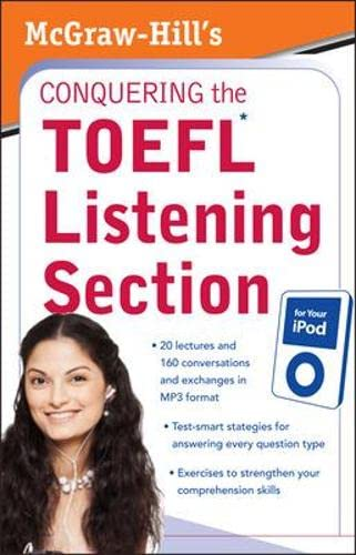 9780071604833: McGraw-Hill's Conquering The TOEFL Listening Section for Your iPod