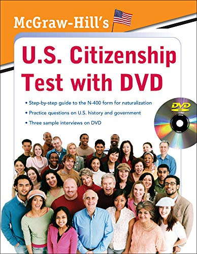 9780071605168: McGraw-Hill's U.S. Citizenship Test with DVD