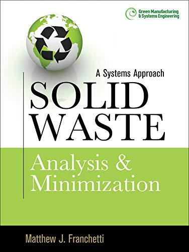 9780071605243: Solid Waste Analysis and Minimization: A Systems Approach: The Systems Approach (Mechanical Engineering)