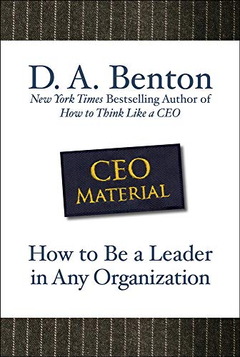 9780071605458: CEO Material: How to Be a Leader in Any Organization