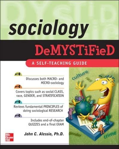 9780071605601: Sociology Demystified