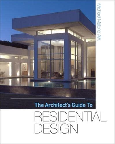 9780071605632: The Architect's Guide to Residential Design (P/L Custom Scoring Survey)