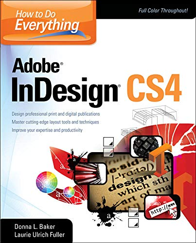 9780071606349: How To Do Everything Adobe InDesign CS4