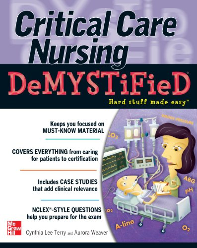 9780071606387: Critical Care Nursing DeMYSTiFieD (Demystified Nursing)