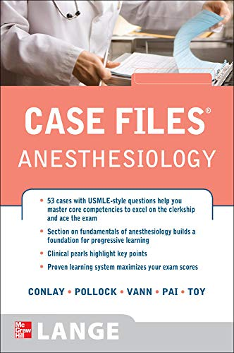 9780071606394: Case Files Anesthesiology (LANGE Case Files)