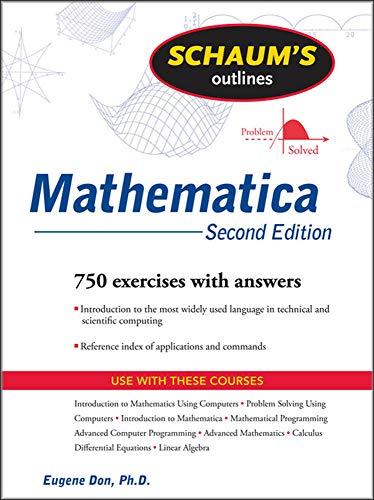 9780071608282: Schaum's Outline of Mathematica, 2ed (Schaum's Outlines)