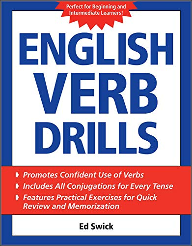 9780071608701: English Verb Drills