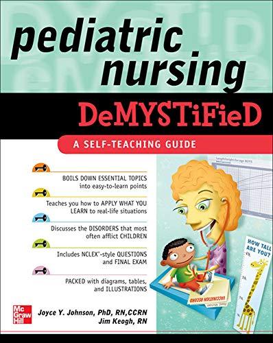 9780071609159: Pediatric Nursing Demystified (Demystified Nursing)