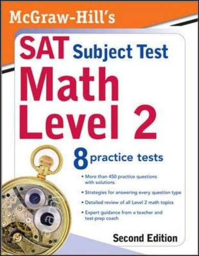 9780071609241: McGraw-Hill's SAT Subject Test: Math Level 2, Second Edition