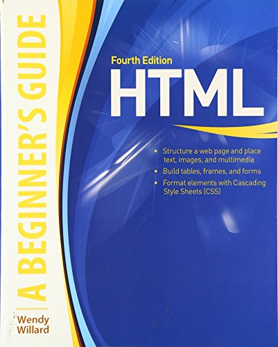 9780071611435: HTML A Beginner's Guide