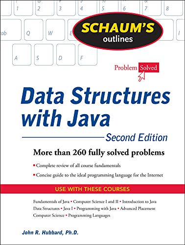 9780071611619: Schaum's Outline of Data Structures with Java, 2ed (Schaum's Outline Series)