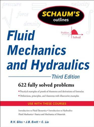 9780071611640: Schaum's Outline of Fluid Mechanics and Hydraulics, 3ed (Schaum's Outline Series)