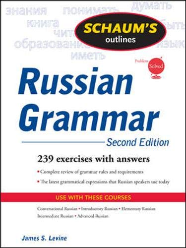 9780071611695: Schaum's outline of russian grammar (Schaum's Outline Series)