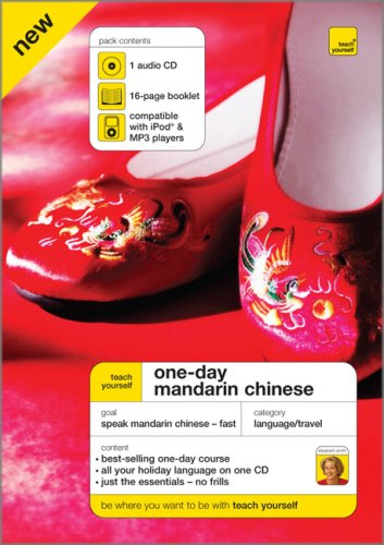 9780071611701: Teach Yourself One-Day Mandarin Chinese (TY: Language Guides)