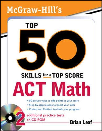 9780071613767: McGraw-Hill's Top 50 Skills for a Top Score: ACT Math