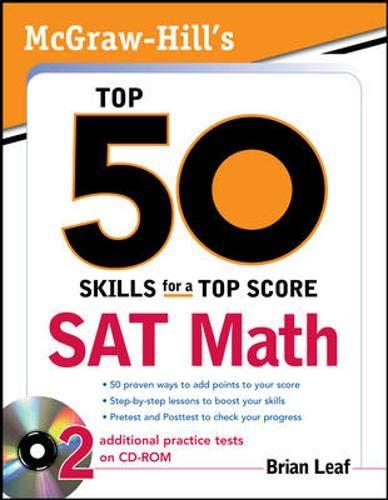 Mcgraw-hill's Top 50 Skills Sat Math [with Cdrom]
