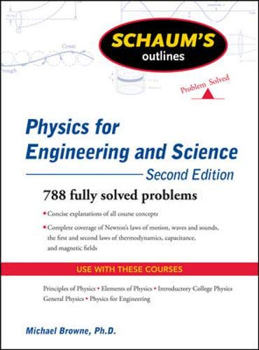 9780071613996: Schaum's Outline of Physics for Engineering and Science, Second Edition (Schaum's Outline Series)