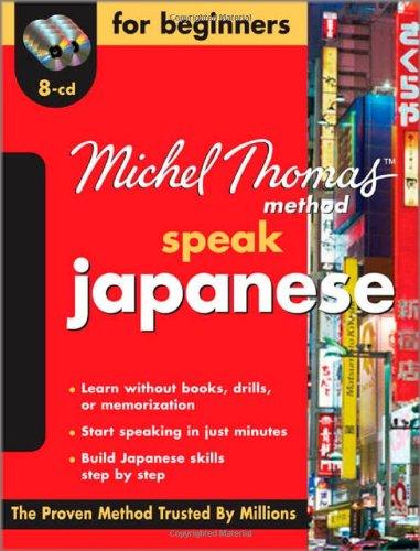 9780071614368: Speak Japanese for Beginners (Michel Thomas Method Speak...)