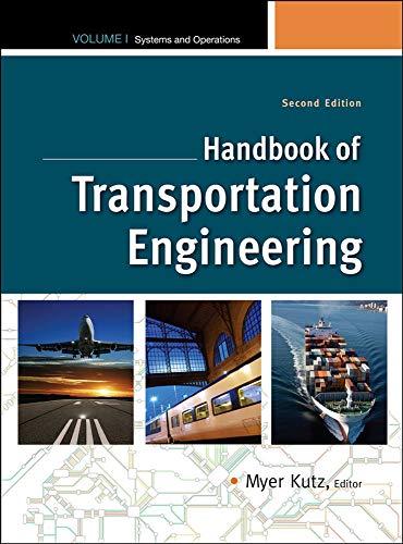 9780071614924: Handbook of Transportation Engineering Volume I, 2e: 1 (Mcgraw-Hill Handbook)