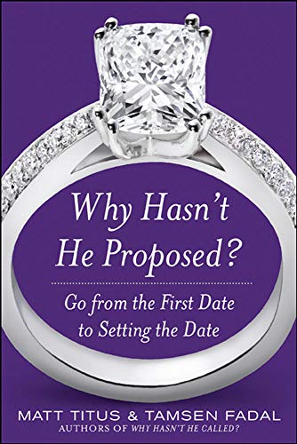 9780071614962: Why Hasn't He Proposed?: Go from the First Date to Setting the Date