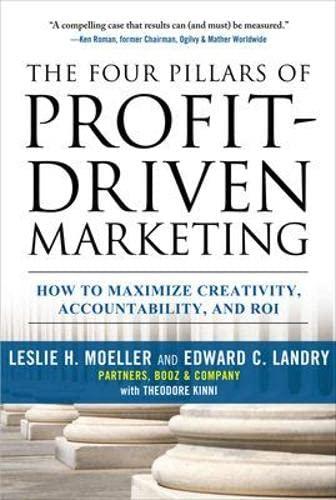 9780071615051: The Four Pillars of Profit-Driven Marketing: How to Maximize Creativity, Accountability, and ROI