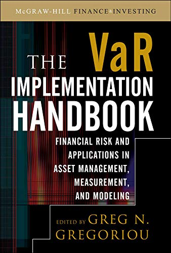 9780071615136: The VAR Implementation Handbook (McGraw-Hill Finance & Investing)