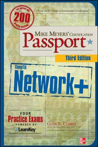 9780071615303: Mike Meyers' CompTIA Network+ Certification Passport, Third Edition
