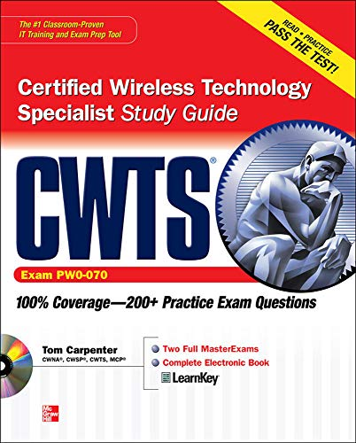 9780071615341: CWTS Certified Wireless Technology Specialist Study Guide (Exam PW0-070)