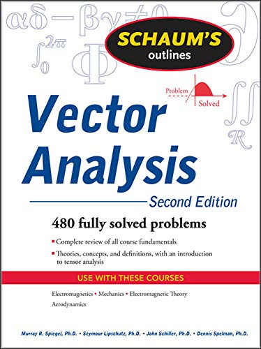 Schaum's Outline of Vector Analysis, 2ed (Schaum's: Murray Spiegel; Seymour