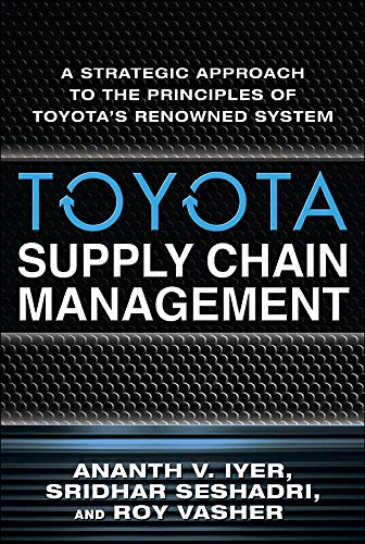 9780071615495: Toyota Supply Chain Management: A Strategic Approach to Toyota's Renowned System