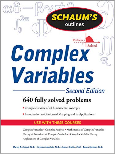 9780071615693: Schaum's Outline of Complex Variables, 2ed