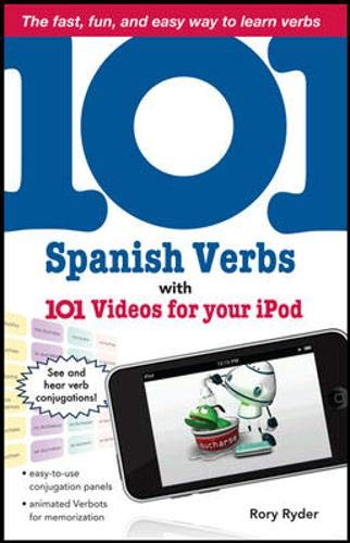 9780071615716: 101 Spanish Verbs with 101 Videos for Your iPod (101... Language Series)