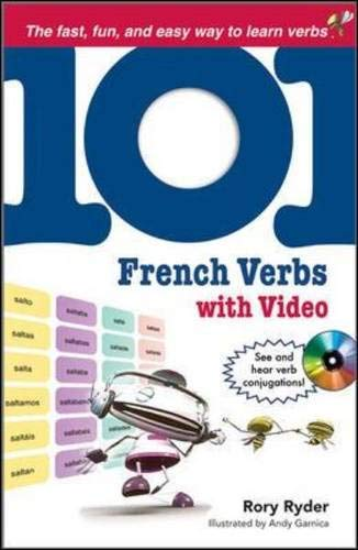 9780071615747: 101 French Verbs with MP4 Video Disc (101... Language Series)