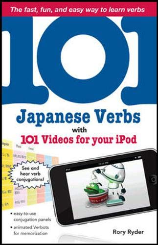 9780071615778: 101 Japanese Verbs with 101 Videos for Your iPod (101... Language Series)
