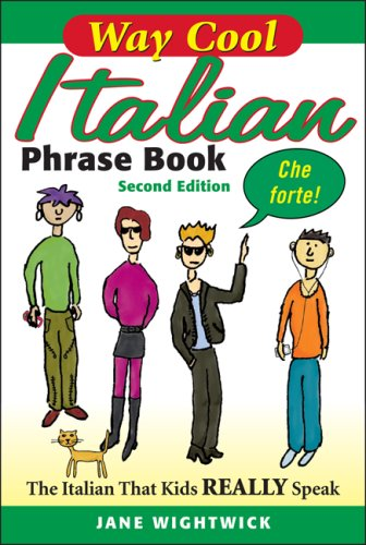 9780071615853: Way Cool Italian Phrase Book: The Italian That Kids Really Speaks