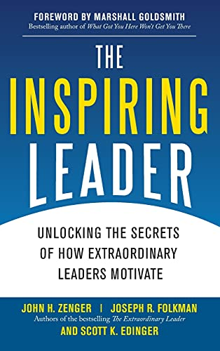 9780071621243: The Inspiring Leader: Unlocking the Secrets of How Extraordinary Leaders Motivate (Business Books)