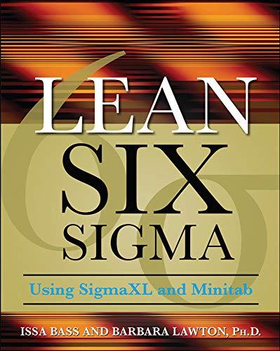 9780071621304: Lean Six Sigma Using SigmaXL and Minitab