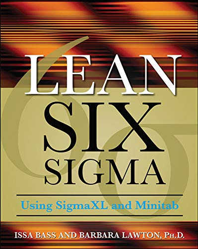 9780071621304: Lean Six Sigma Using SigmaXL and Minitab
