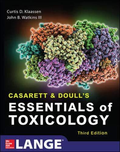 9780071622400: Casarett & Doull's essentials of toxicology