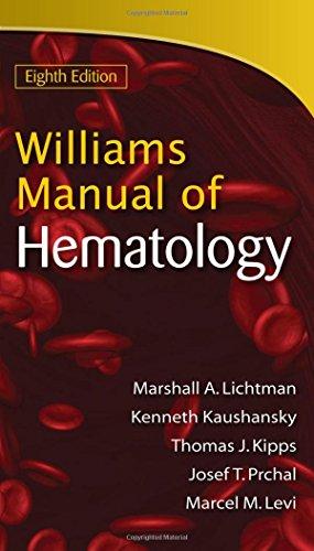 9780071622424: Williams Manual of Hematology, Eighth Edition