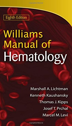 9780071622424: Williams Manual of Hematology, Eighth Edition