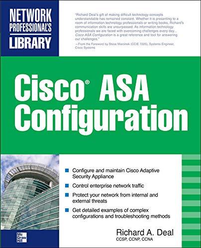 9780071622691: Cisco ASA Configuration (Networking Professional's Library)