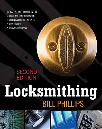9780071622752: Locksmithing, Second Edition