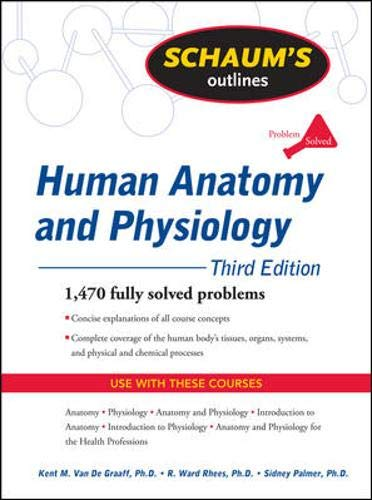 9780071623308: Schaum's Outline of Human Anatomy and Physiology, Third Edition (Schaum's Outline Series)