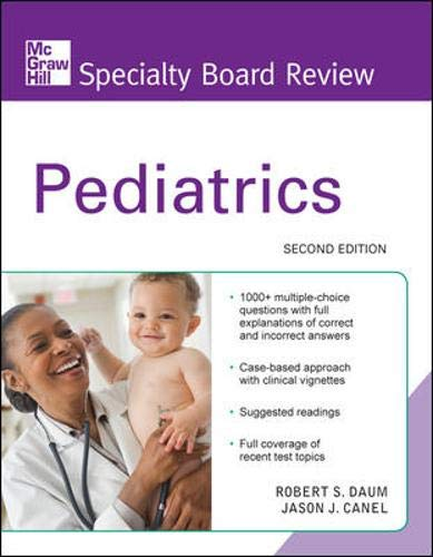 9780071623414: McGraw-Hill Specialty Board Review Pediatrics, Second Edition