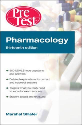 9780071623421: Pharmacology: PreTest Self-Assessment and Review, Thirteenth Edition (PreTest Basic Science)
