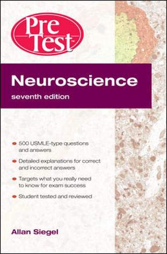 9780071623476: Neuroscience Pretest Self-Assessment and Review, Seventh Edition (Pretest Basic Science Series)