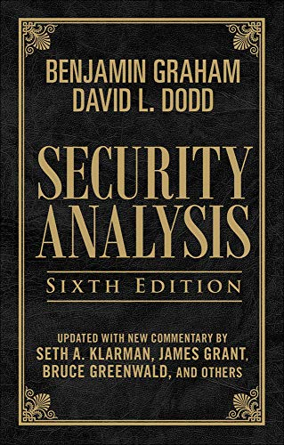 9780071623575: Security Analysis: Sixth Edition, Foreword by Warren Buffett (Limited Leatherbound Edition)