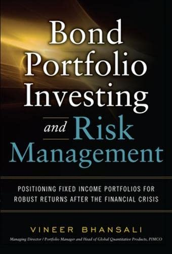 9780071623704: Bond Portfolio Investing and Risk Management